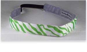Green Zebra Thin Diva Band