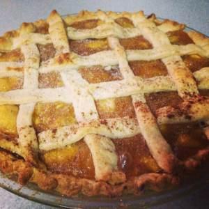 Peach Necterine Pluott Pie