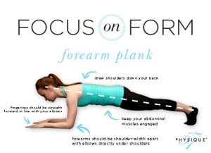 form plank