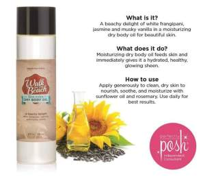 dry body oil perfectly posh