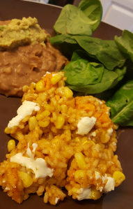 sweet potato risotto taco bake 1